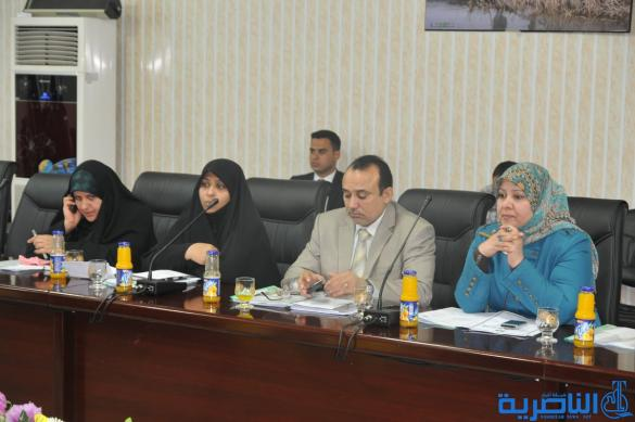 مجلس ذي قار يعقد اجتماعه الدوري لمناقشة التعديل الثاني لقانون مجالس المحافظات - تقرير مصور -