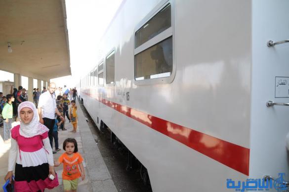 القطار الصيني السريع يصل الناصرية بطيئا – تقرير مصور –