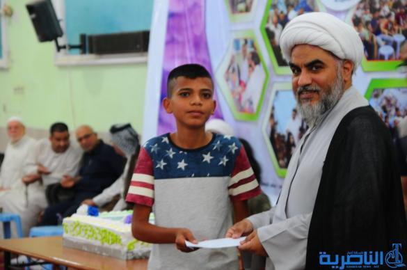 اختتام المسابقة الرمضانية الثامنة لجمعية التضامن في الناصرية - تقرير مصور-