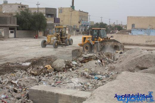 مجلس ذي قار يوجه بتنفيذ حملة كبرى لتنظيف وانارة شوارع مدينة الصدر