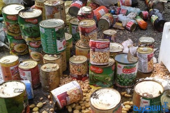 ضبط ومصادرة اغذية تالفة في الرفاعي والنصر
