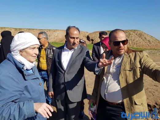 الناصري يتفقد موقع عمل البعثة الامريكية في مدينة اور الاثرية ويدعو وزارة الثقافة لدعم البعثات التنقيبية
