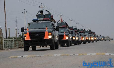 ذي قار تعزز حماية الطريق الدولي السريع بفوج من شرطة الطوارئ