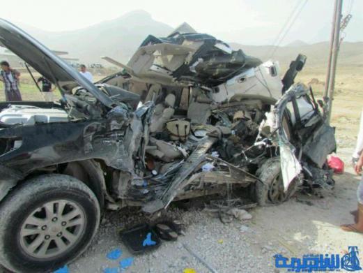 مصرع وإصابة عشرة أشخاص بحادث سير مروري شرق الناصرية
