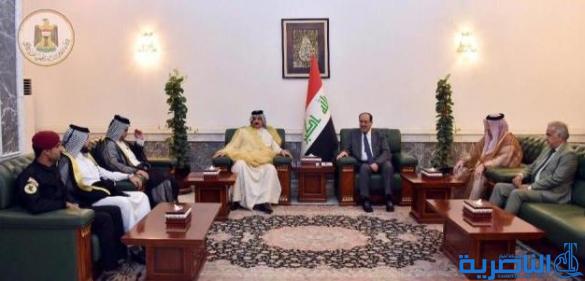 المالكي: قواتنا المسلحة والحشد أسهمت باسقاط المؤامرات التي كانت تحاك ضد العراق
