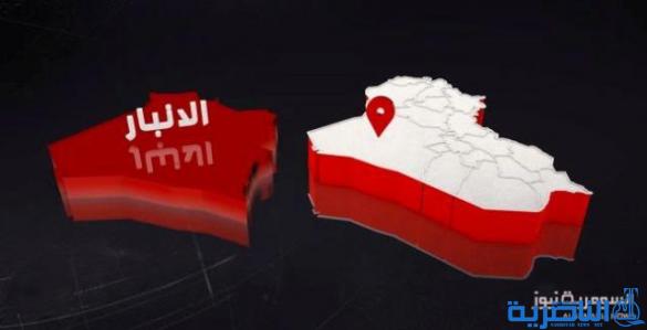 """قائد الفرقة الأولى بالجيش يعلن العثور على انفاق لـ""""داعش"""" في عكاشات"""