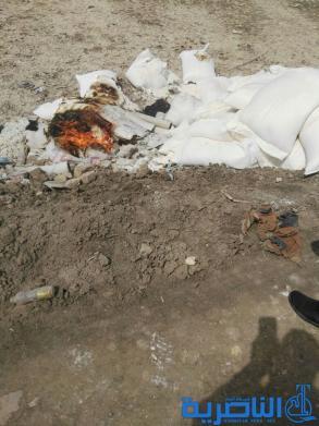بالصور : ضبط واتلاف 70 كيس طحين منتهي الصلاحية في قلعة سكر