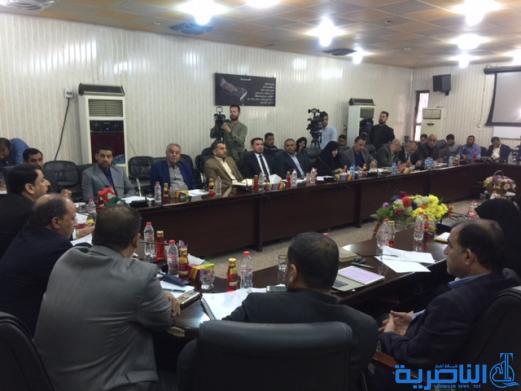 مجلس ذي قار يلزم كافة الدوائر والمؤسسات لاهلية والحكومية بنصب كاميرات مراقبة حديثة