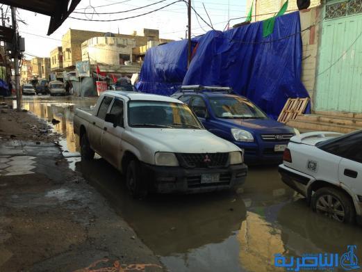 غرفة عمليات ذي قار تستمر حتى فجر الاثنين في معالجة الأضرار الناجمة عن الأمطار - تقرير مصور -