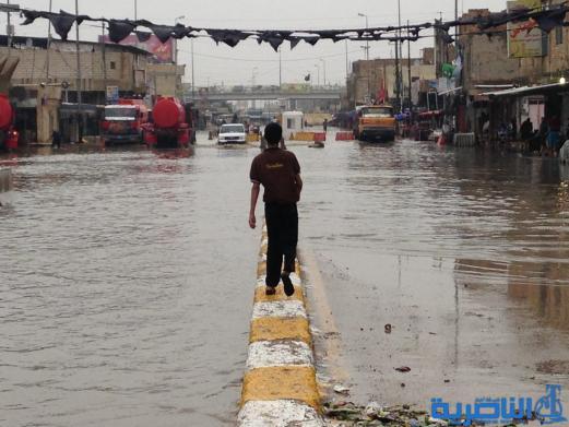 الأنواء الجوية في ذي قار : 57 ملم من الأمطار تساقطت على المحافظة خلال 24 ساعة - تقرير مصور -