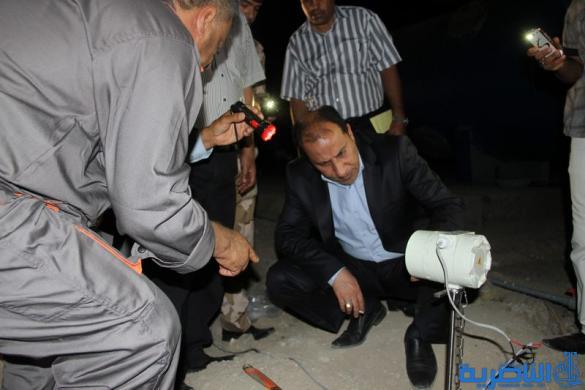 محافظ ذي قار يشرف على التشغيل التجريبي للمرحلة الأولى من مشروع ماء الشامية الجديد - تقرير مصور -