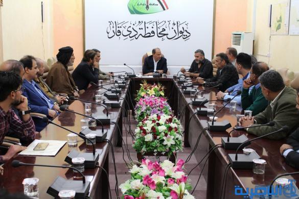 محافظ ذي قار :مشروع استثمار الكهرباء من صلاحيات بغداد حصرا ونطالبها بالاستماع للمتظاهرين