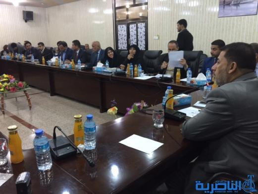 مجلس ذي قار يعقد اجتماعه الدوري لبحث ملف رواتب الحماية الاجتماعية