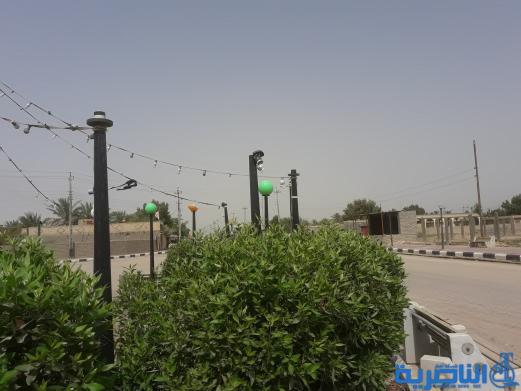 بالصور : اعمال تخريب تطال حدائق عامة في ناحية الطار