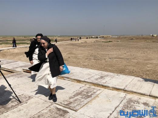 وفد مسيحي كبير يزور مدينة اور الاثرية في الناصرية - تقرير مصور-
