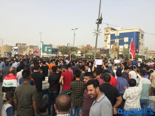 بالصور:انطلاق التظاهرات في الناصرية للمطالبة بالخدمات والقضاء على الفساد