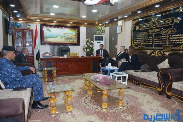 نائب السفير السويدي يزور نزيلا في سجن الناصرية الاصلاحي