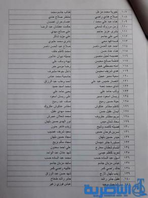 وزارة العمل تباشر بتوزيع دفعة جديدة من رواتب المعين المتفرغ في ذي قار -قائمة بالاسماء-