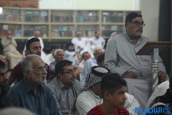 بالصور : صلاة الجمعة في مدينة الناصرية