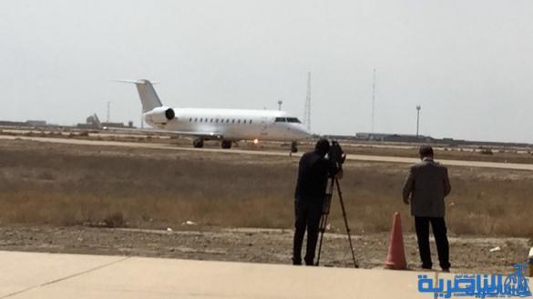 مطار الناصرية يستقبل أول رحلة جوية من اربيل