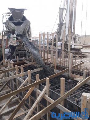 شركة المعتصم تنجز 35% من مشروع الجسر الحديدي في الرفاعي