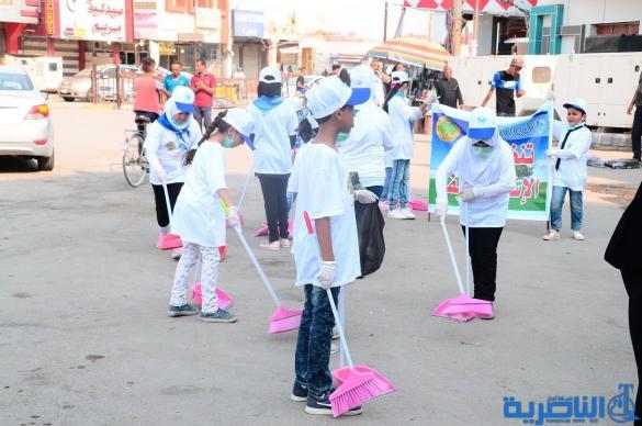 تربية ذي قار تطلق اسبوعا للنظافة في مدارس الناصرية