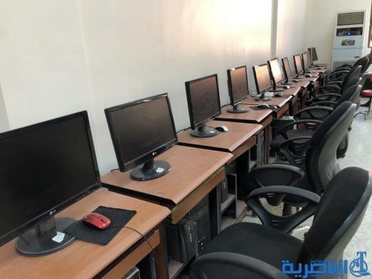زين للاتصالات تزود جامعة ذي قار بحواسيب ومعدات الكترونية حديثة - تقرير مصور -