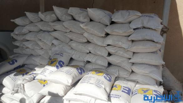 سوق الشيوخ تضبط 19 طنا من الرز المستورد غير الصالح للاستهلاك البشري - تقرير مصور -