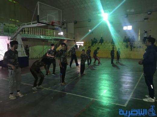 منظمة التواصل والاخاء ترعى لعبة الباركور في الناصرية - تقرير مصور -