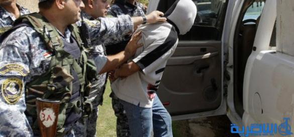 شرطة ذي قار تعتقل عنصرا من داعش اثناء محاولته دخول المحافظة