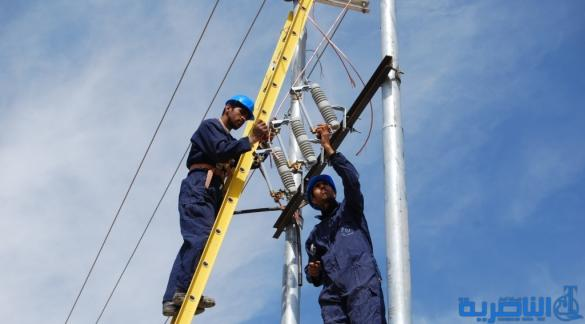 اعمال صيانة دورية تتسبب بقطع الكهرباء عن عدد من احياء الناصرية