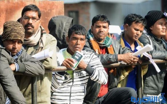 ذي قار تسفر سبعة عمال باكستانيين وبنغاليين لمخالفتهم ضوابط الاقامة