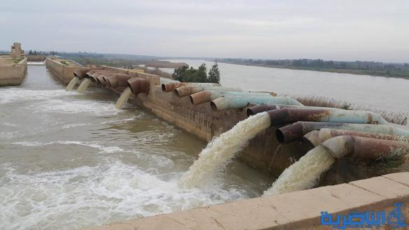 المثنى تؤكد التزامها بايصال الحصة المائية الى ذي قار من نهر الفرات