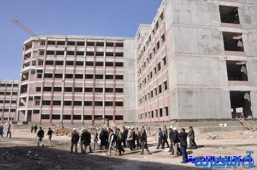 دائرة المهندس المقيم .. انجاز مستشفى الناصرية في الربع الاول من العام المقبل