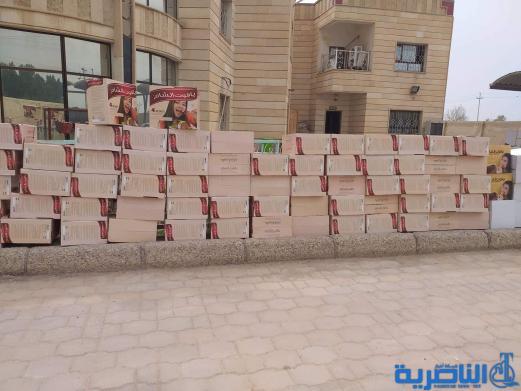 """سوق الشيوخ تصادر طنا من """"الكيك"""" منتهي الصلاحية"""