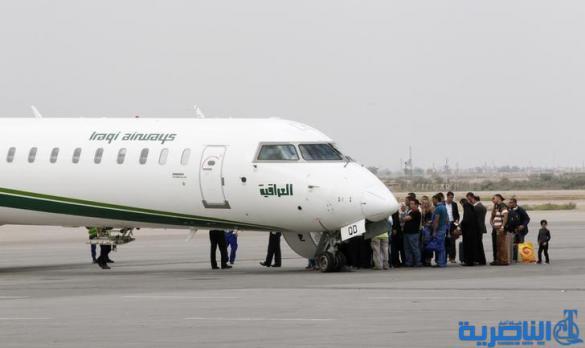 مطار الناصرية الدولي بصدد افتتاح خطوط دولية جديدة باتجاه مشهد وتركيا وسورية