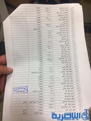 شبكة اخبار الناصرية تنشر اسماء جرحى تفجيرات سيطرة فدك