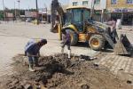 مركز ماء الناصرية : أعمال صيانة الصالحية ليوم ألأحد الموافق 2017/10/22