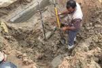 اعمال صيانة مركز ماء الناصرية قسم الشامية الثانية ليوم الاربعاء 2017/10/25