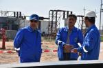 شركة نفط ذي قار تباشر بتطوير ضفة عزل الغاز في حقل الناصرية النفطي