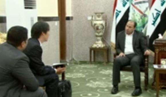 تقرير تلفزيوني:محافظ ذي قار يلتقي وفدا من شركة هانوا الكورية