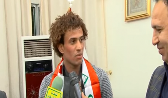 فيديو:لاعب المنتحب مازن فياض يشيد بمبادرة المحافظ واهتمامه بالرياضيين
