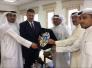 وزارة الإعلام الكويتية تكرم أبو الهيل بدرع الوزارة