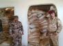 الاستخبارات العسكرية: ضبط مخزن كبير لداعش في القائم يضم 3000 كيس من اليوريا