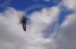 """""""سوبرمان"""" يحلق فوق دبلن (فيديو)"""